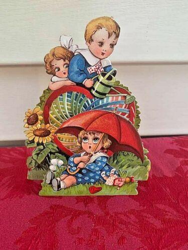 Vintage 1920s 3D Die Cut Embossed Valentine