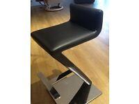 Dark brown bar stools