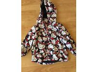Hello Kitty lightweight jacket 2-3 years