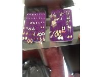 38 pairs of costume jewerly earrings.
