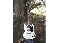Vintage VS6 SG type guitar