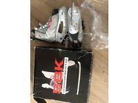 SBK ice skates size 5/38