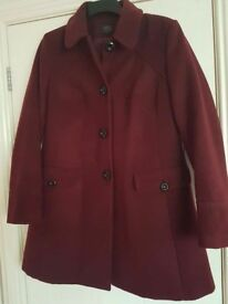 Ladies M&S coat size 12