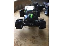 rc hpi savage xs flux brushless 65mph
