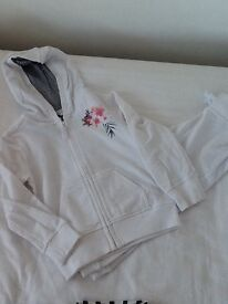 **MARKS AND SPENCER WHITE TRACKSUIT, AGE 3/4**