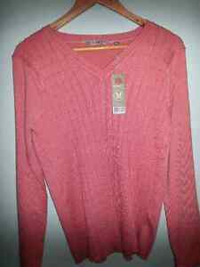 Rivers knit Jumper Blush Size M Brand New RRP $39.95 Kelso Townsville Surrounds Preview