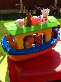 Animal Sounds Noah's Ark Toy