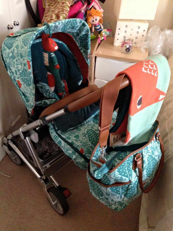DONNA WILSON URBO 2 , FOX MAMA AND PAPAS PRAM , GREAT ...