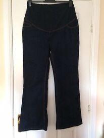 JoJo Maman Bebe maternity jeans; size 16