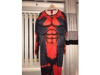 **New** deadpool costume size XL