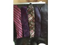 Selection of mens ties