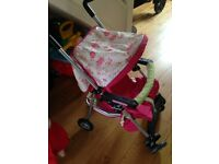 mamas amd papas dolls pram