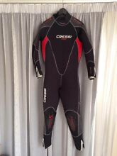 Cressi LONTRA Womens Semi-Dry Wetsuit 7mm (price drop) Mitchell Park Marion Area Preview