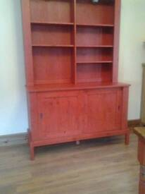 Red colour dresser/sideboard