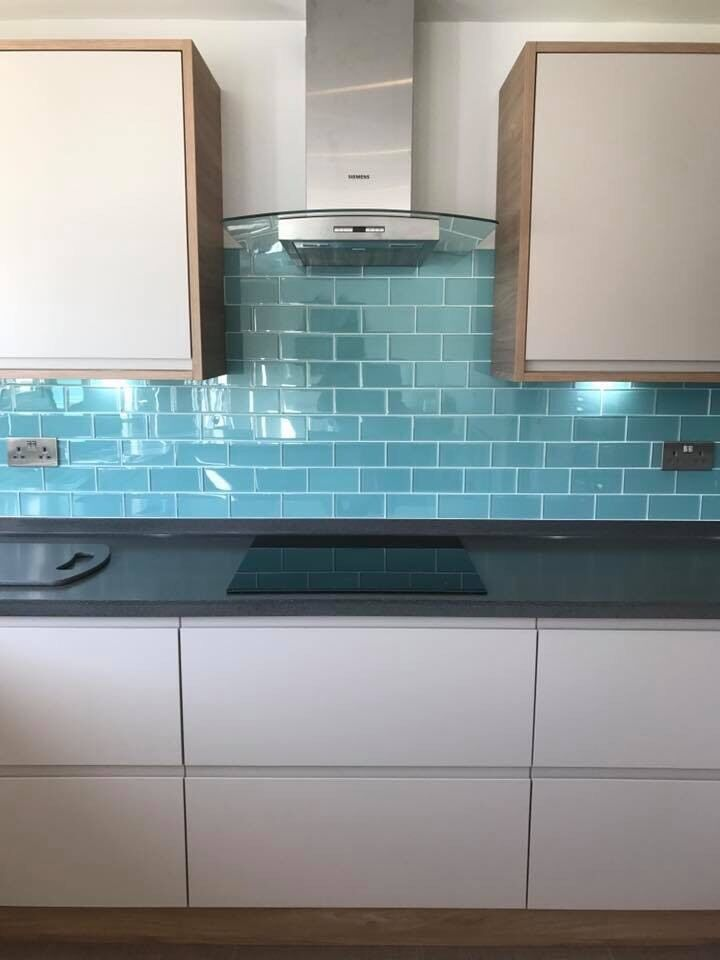 Aquamarine Glass Metro Tiles In Perth Perth And Kinross Gumtree