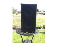 2 X 10 Bass speaker cab