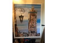 Large oil painting on canvas