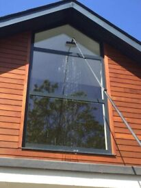 Window Cleaning, Water Fed Pole System