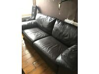 Brown Leather sofa for FREE