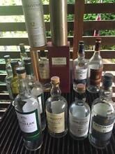 Assortment of whiskey bottles Davidson Warringah Area Preview