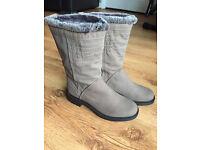 Brand new Next grey boots