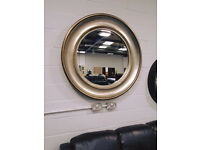 Brand New ALBERT Large Circular Mirror- ONLY £197.50! 102 cm by 102 cm Mirror Is Bronze.