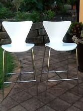 2 x kitchen bench bar stools Northbridge Willoughby Area Preview