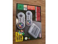 Unopened Super Nintendo Classic Mini