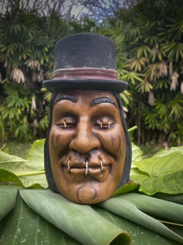 Shrunken Salesman Tiki Mug - SHRUNKEN MONKEY Trader Sam Disney World Disneyland