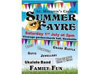 Summer Fayre, Newbottle