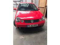 VOLKSWAGON POLO 3 DOOR 1.4 SPORT