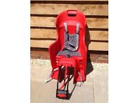 Childrens kids bike seat hardly used