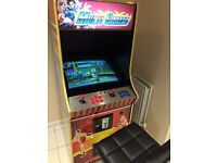 Multi game arcade machine limited edition