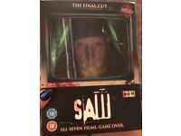 Limited Edition Saw Boxset 1-7