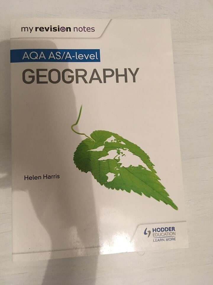 A-Level Geography: AQA Year 1 & 2 Complete Revision & Practice