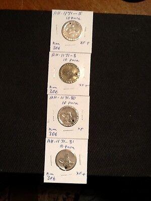 Turkey Ottoman Coins. Sultan Mustafa Iii. Ah-1171-  10-Para.Lar
