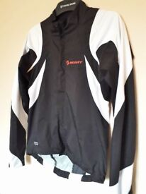 Scott windproof jacket, size small