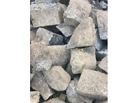 Granite blocks/boulders in assorted shapes and sizes