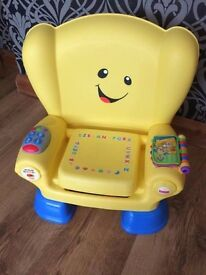 FISHER-PRICE LAUGH AND LEARN SMART STAGES CHAIR!
