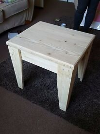 Rustic Coffee Table, 100% recycled materials