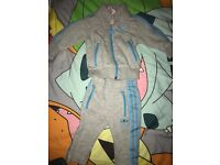 BABY 6 MONTHS ADIDAS TRACKSUIT TOP + BOTTOMS - EXCELLENT CONDITION £10