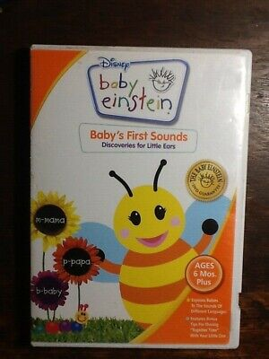 Disney Baby Einstein Bee Baby's First Sounds: Discoveries for Little Ears DVD
