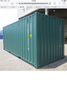 20' shipping container a/grade painted 2900.00 Moss Vale Bowral Area Preview