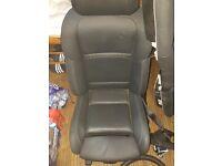 BMW F10 Leather Heated M Sport Seats