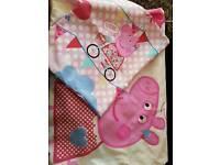 Peppa pig single duvet cover & Pillow case ip1