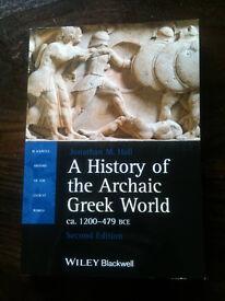 A History of the Archaic Greek World 2nd Ed Jonathan M.Hall, 2014