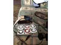 Psp with 6 games