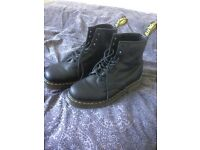 Dr. Martens, Black, Size 9, Worn once.