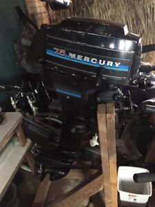 7.5hp Mercury Outboard