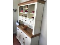 Country Cottage Natural Oak and Painted Larger Dresser